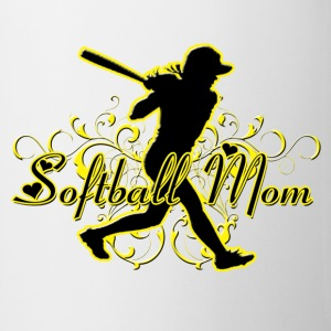Softball Mom (silhouette) Accessories - Coffee/Tea Mug
