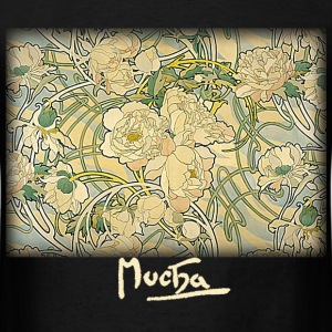 Mucha – Flowers - Men's T-Shirt