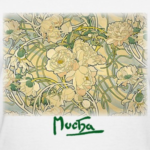 Mucha – Flowers - Women's T-Shirt