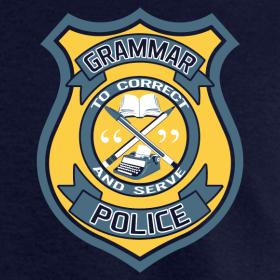 Design ~ Men's Grammar Police