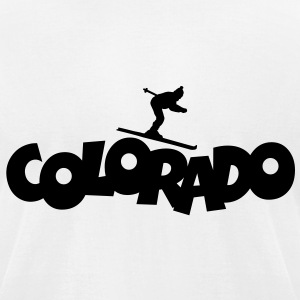 Colorado Ski T-Shirt - Men's T-Shirt by American Apparel