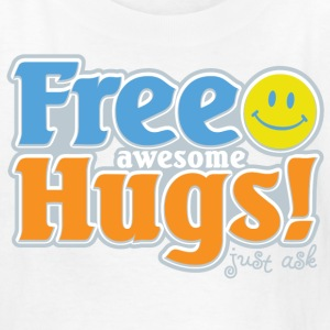 Free Awesome Hugs! Kids' Shirts - Kids' T-Shirt