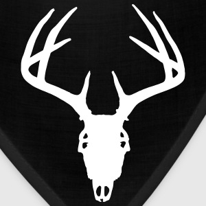 Deer Hunting Deer Skull template to personalize  C - Bandana