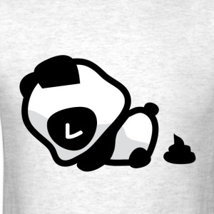Pooping Panda T-Shirts - Men's T-Shirt