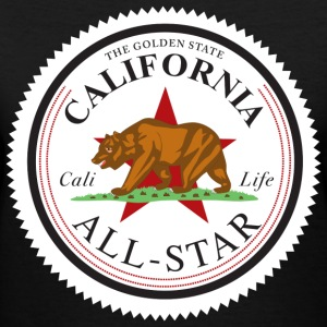 california_all_star - Women's V-Neck T-Shirt