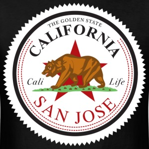 cali_san_jose - Men's T-Shirt