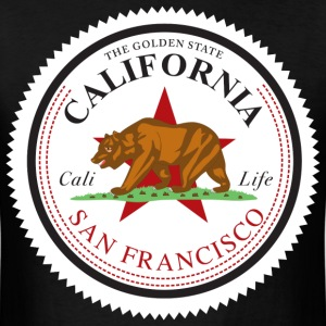 cali_san_francisco - Men's T-Shirt