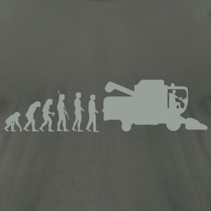evolution_thresher_g1 T-Shirts - Men's T-Shirt by American Apparel