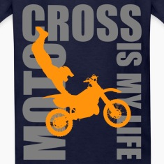 motocross is my life T-shirts Enfant