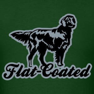 flat_coated T-Shirts - Men's T-Shirt