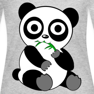 panda Long Sleeve Shirts - Women's Long Sleeve Jersey T-Shirt