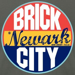 Newark Vintage Label American Apparel T-Shirt - Men's T-Shirt by American Apparel