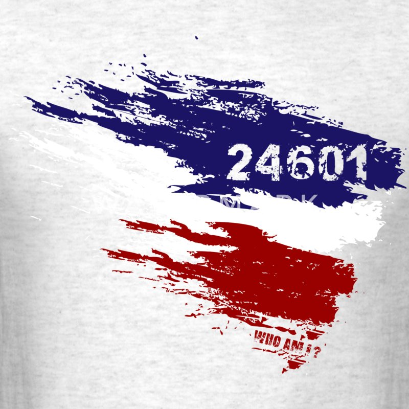 Les Miserables 24601 v3 T-Shirts - Men's T-Shirt