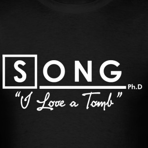 RIVER SONG, Ph.D T-Shirts - Men's T-Shirt