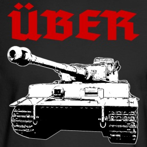 Über Tank Long Sleeve Shirts - Men's Long Sleeve T-Shirt