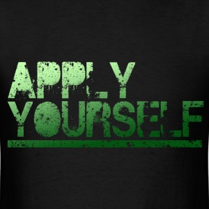 Apply Yourself - Breaking Bad Heisenberg T-Shirt - Men's T-Shirt