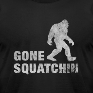 Squatchin' . T-Shirts - Men's T-Shirt by American Apparel