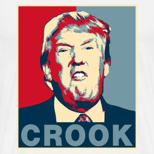 Trump Crook Poster Tee