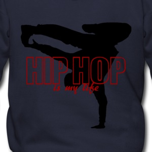 hip hop is my life Zip Hoodies/Jackets - Men's Zip Hoodie