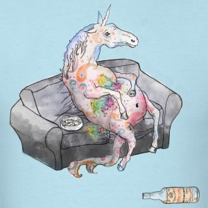 drunk unicorn T-Shirts - Men's T-Shirt