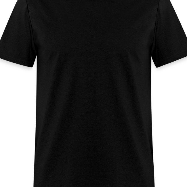 Plain Black Tee Men S T Shirt