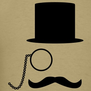 Like A Sir & Moustache T-Shirts - Men's T-Shirt
