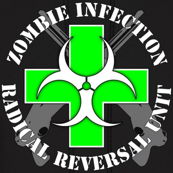 Zombie Radical Reversal Unit - Men's Hoodie