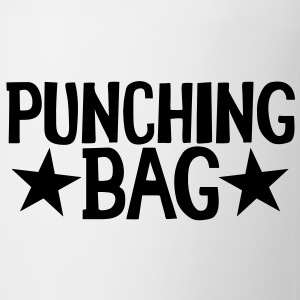 PUNCHING BAG with stars Bottles & Mugs - Coffee/Tea Mug
