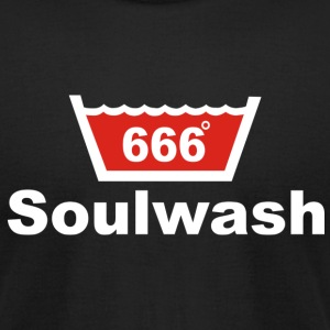 Soul Wash 666  - Men's T-Shirt by American Apparel