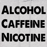 Design ~ Alcohol, Caffeine, Nicotine
