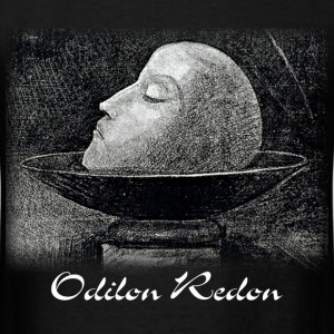 Odilon Redon - Head of a Martyr - Men's T-Shirt