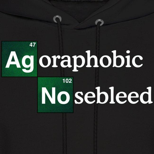 """AGORAPHOBIC NOSEBLEED """"Methamphetamine Nosebleed"""" HOODIE"""