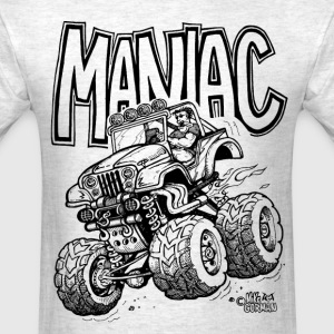 Maniac Jeep Off Roader - Men's T-Shirt