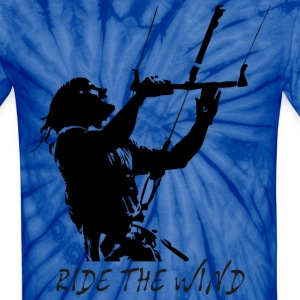 Ride the wind - Unisex Tie Dye T-Shirt