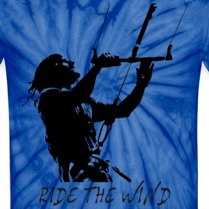 Ride the wind T-Shirts - Unisex Tie Dye T-Shirt