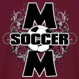 Soccer Mom (cross) Hoodies - Men's Hoodie