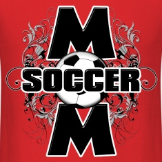 Soccer Mom (cross) T-Shirts