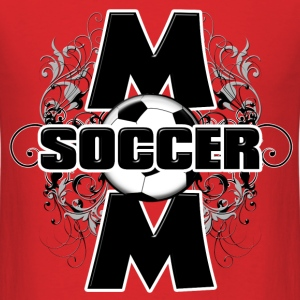 Soccer Mom (cross) T-Shirts - Men's T-Shirt