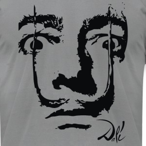 Salvador Dali - Men's T-Shirt by American Apparel