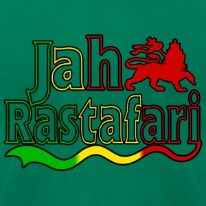 jah rastafari T-Shirts - Men's T-Shirt by American Apparel