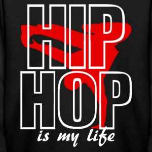 hip jop is my life Kids' Shirts - Kids' Long Sleeve T-Shirt
