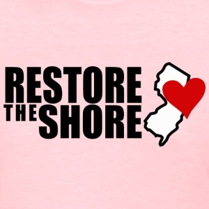 RESTORE THE SHORE Women's T-Shirts - Women's T-Shirt