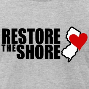 RESTORE THE SHORE T-Shirts - Men's T-Shirt by American Apparel