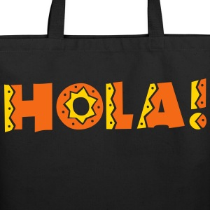 HOLA! new mexico Mexican greeting hello! Bags & backpacks - Eco-Friendly Cotton Tote