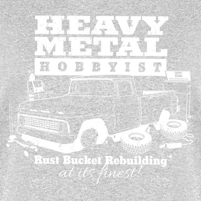 Heavy Metal Hobbyist Tee White Graphic