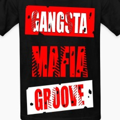 gangsta mafia groove Kids' Shirts