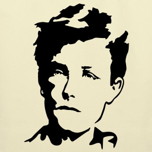 Arthur Rimbaud Bags  - Eco-Friendly Cotton Tote