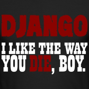 django Long Sleeve Shirts - Men's Long Sleeve T-Shirt by Next Level