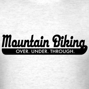 mountain bike T-Shirts - Men's T-Shirt