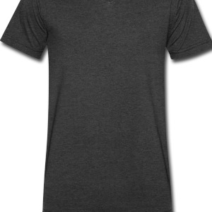 Black Natural Hair Wideneck Sweatshirt - Men's V-Neck T-Shirt by Canvas